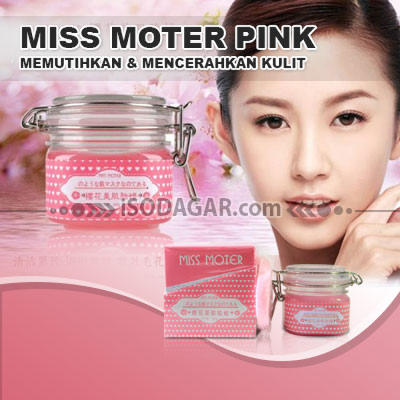 JUAL MISS MOTER PINK ORIGINAL *HP: 0878 8585 6222