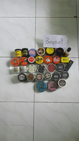 pomade suavecito|cockgrease|murrays|toar|beaux|switchblade|fuko|laem|edgewax
