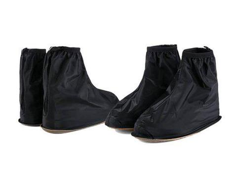 Supplier Distributor Jas Sepatu Rain Coat Cover Shoes Warna Hitam Funcover Cosh