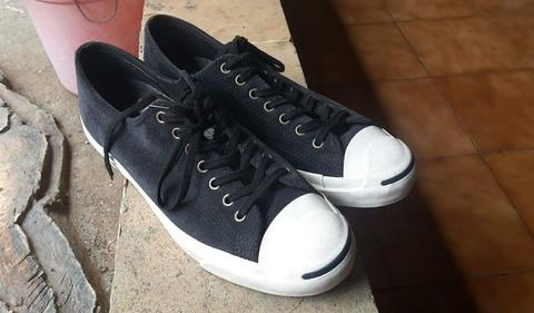 Converse JP Jack Purcell Suede Black Size 11