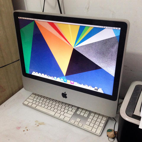 APPLE IMAC 20' - Mid 2007 (HDD 1TB, RAM 3GB)