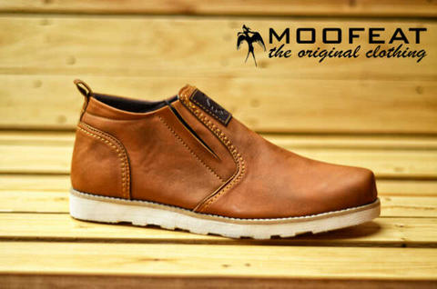 Moofeat gibson casual shoes original suede leather