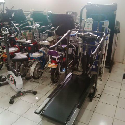 Tratmil manual 6in1 with free style glider total fitnes Treadmill murah