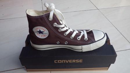 Converse CT High Brown Canvas ( Original ) Murah