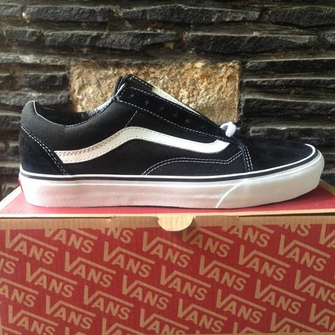 Vans Old Skool Black White Size 7 - 7,5 - 8 - 8,5 - 9