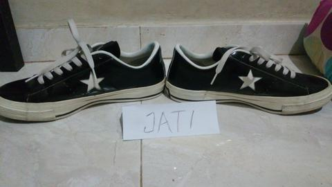 wts converse one star , japan market, the who, undefeated kolpri (not adidas)