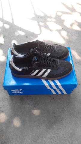 Adidas Samba Black Gumsole (Original With Box)