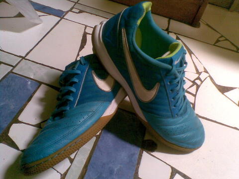 nike gato ll , futsal shoes leather ( bisa tt or barter )