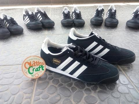Adidas Dragon Black White