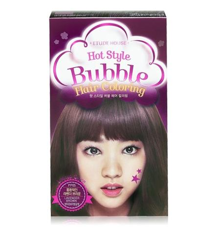 Etude House Hot Style Bubble Hair Coloring #PP05 Lavender Brown