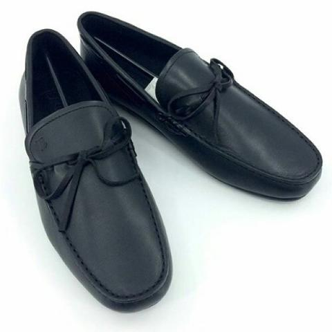 JUAL SEPATU TODS BLACK LEATHER MIRROR QUALITY | SMS/WHATSAPP: 0812 1737 9888