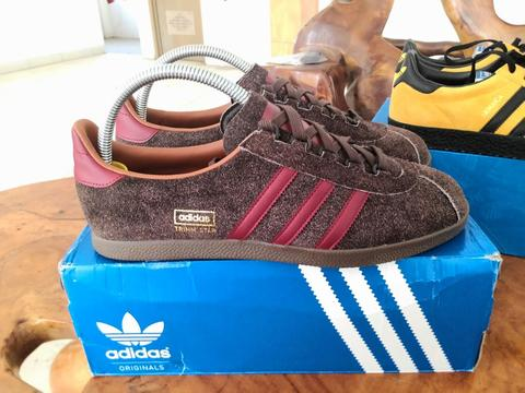 PO Deadstock Adidas Trimm Star 100% ORIGINAL BNIB not london dublin stockholm