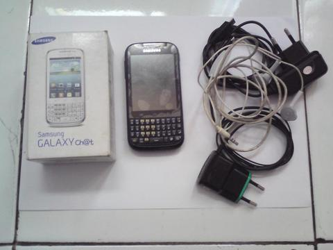 Samsung galaxy chat gt-b5330 black hitam