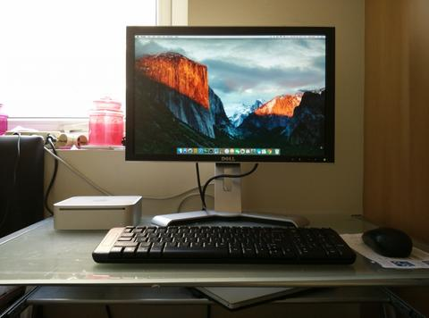 Mac Mini early 2009 + Dell Monitor
