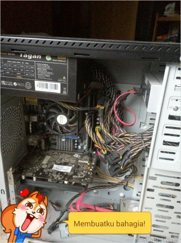 "[2Nd] PC GAMING FX 6300 + Monitor Gaming 22"" (No Keteng) [BDG]"