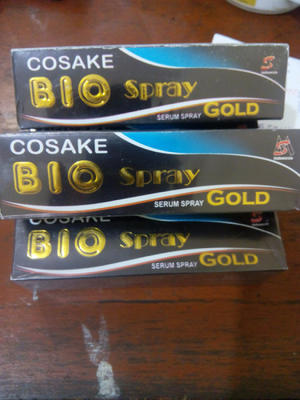 BioSpray / Bio Spray Gold 60ml ORIGINAL KEMASAN TERBARU