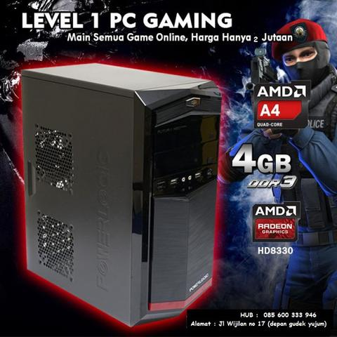 Cpu Komputer Desain Render Gaming Multimedia Entery LEVEL