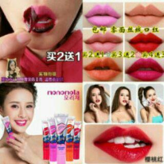 LIPS TATTO MONOMOLA, KISS BEAUTY LIPGROSS, NENHONG, DODORA, ODBO LIPSTIN, BABY LIPS