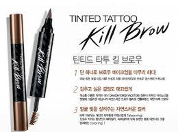 TATTOO AND MASCARA 2IN1 KILL BROW SOFT BROWN