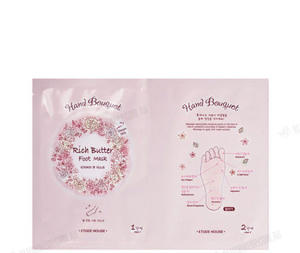 Etude House Hand Bouquet Rich Butter Foot Mask
