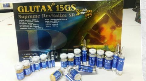 GLUTAX 15GS Double Action Whitening Antiaging