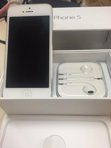 iPhone 5S 32GB Silver White