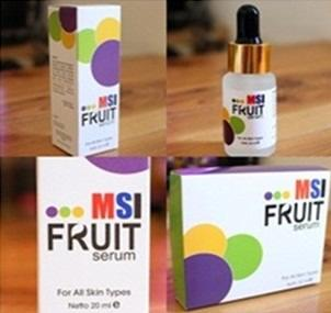 MSI FRUIT SERUM stem cell / whitening serum