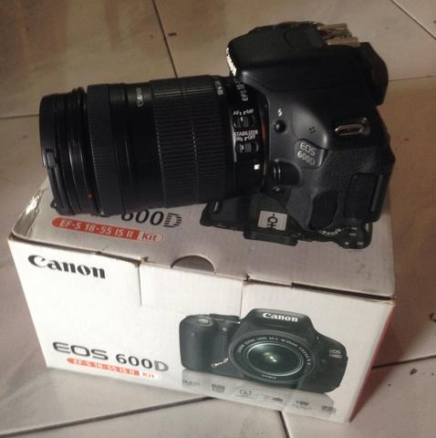 Terjual Dijual canon eos 600d with lensa 18-135mm is ...