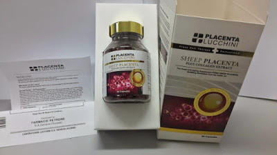 Capsul LUCCHINI SHEEP PLACENTA PLUS COLLAGENT EXTRACT kapsul antiaging