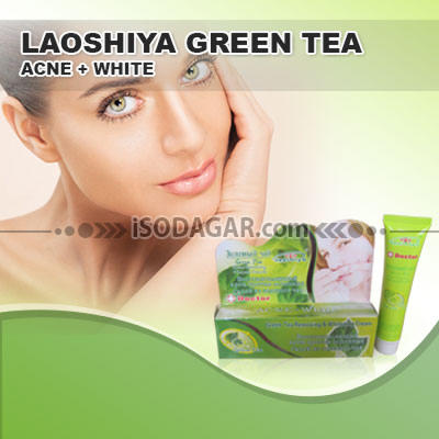 Jual CREAM LAOSHIYA GREEN TEA ACNE, @hp : 0878 8585 6222