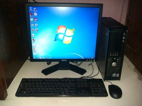 Dell Optiplex 780Sff Core2duo E8400 3.0 Ghz Fullset