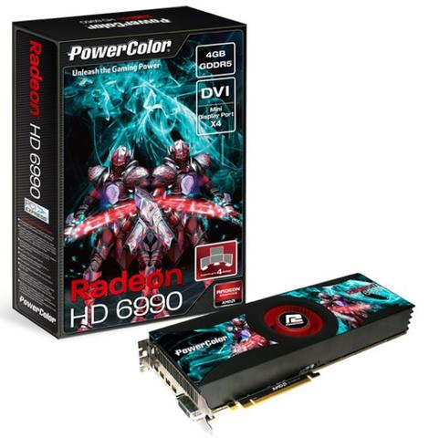 Powercolor ATI Radeon HD 6990 (Dual GPU)