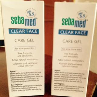 SEBAMEB CLEAR FACE CARE GEL 100% NEW ORIGINAL MURAH