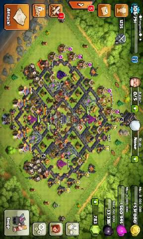 WTS> COC TH9 (COD Bekasi ONLY)