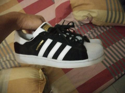 Sneakers Adidas Superstar East River Rivalry Black (Saingan vans, converse, nike)