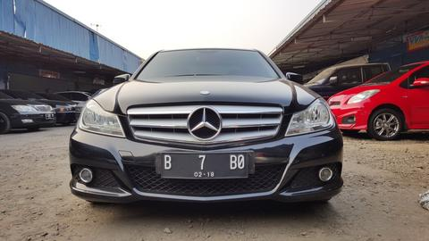 Mercedes Benz C200 Classic 2013 (NIK 2012 ), Full Original, Perfect Condition