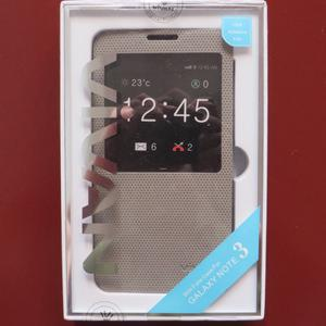 smart cover case samsung galaxy note 3 N900 white brown