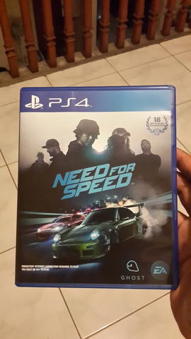 NEED FOR SPEED NFS PS4 reg3 DLC UNUSED