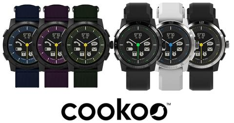 [IPHUNKZ] COOKOO 2 SMARTWATCH SPORTY FOR ANDROID & IOS