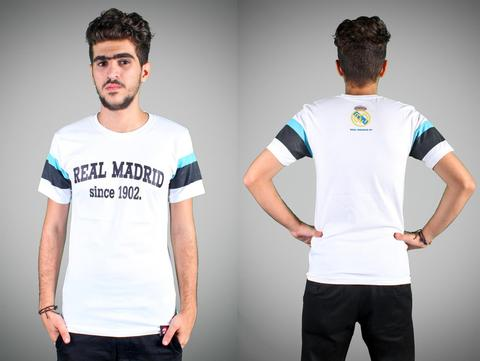"T-SHIRT / KAOS BOLA REAL MADRID ""SINCE 1902"""