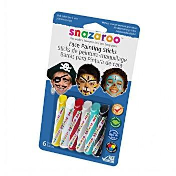 Face-painting Sticks by Snazaroo (Safe for Children)