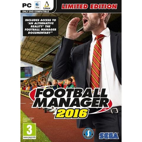[VERDE] READY STOCK Game PC Football Manager 2016 (FM 2016) Limited Edition ORIGINAL