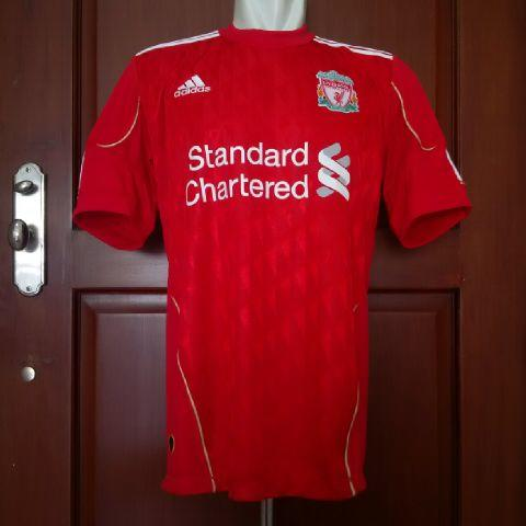 JERSEY LIVERPOOL 2010 HOME