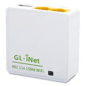 GL.iNet OpenWRT Mini Smart Router 16MB ROM - 6416A - White