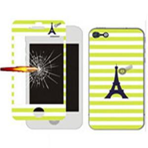 Tempered Glass and Painted Phone Case for iPhone 6 - 008