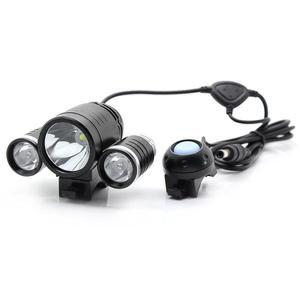 TrustFire LED Bicycle Light 1x CREE XM-L T6 and 2x XPE-R2 1800 LUMENS - TR-D003