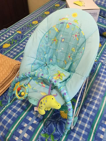 WTS BNOB Baby Bouncer with vibration & song merk MASTELA (MALANG)