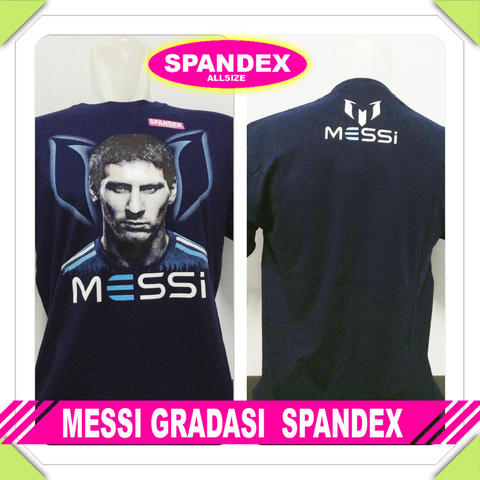 T-SHIRT KAOS MESSI LOGO