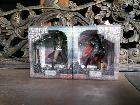 Assassin's Creed Syndicate Jacob and Evie Frye Figure Statue Ubisoft