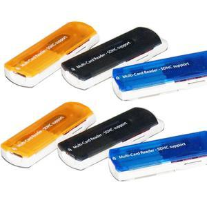 Multifunction Microware USB 2.0 Support SD / MMC / MS / TF / M2 Card Reader
